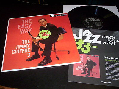 "The Jimmy Giuffre 3 ""The Easy Way"" LP 180gr. with Insert VERVE/DE AGOSTINI"
