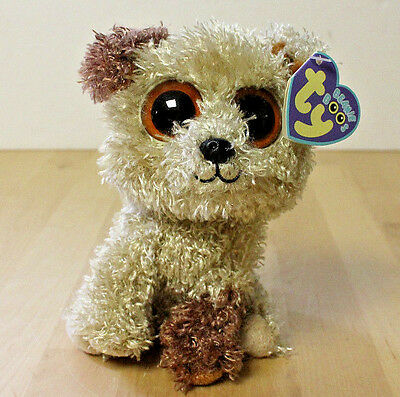 """2fbac955189 Ty Beanie Boo 6"""" Rootbeer the Dog Birthday December 26 MWMT RETIRED Style  36087"""