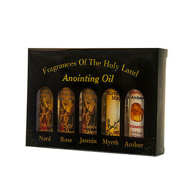 Lot Of 5 Mix Anointing Oil in Roll On Bottels 10ml
