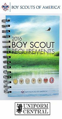 New BSA Boy Scouts of America Offical 2016 Requirements - Spiral Bound Book