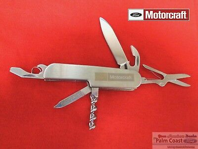 Ford Motorcraft Silver Deluxe Tinker Swiss Army Pocket Knife