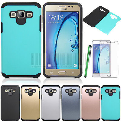 Armor Shockproof Rubber Hybrid Hard Phone Case Cover For Samsung Galaxy On5