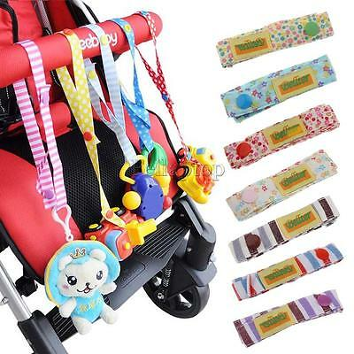 Baby Stroller Supplies Straps Anti Drop Toys Bottle Fastening Pacifier Clips