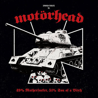 V/a Spanish Tribute To Motorhead: 49% Mother****er 51% Son Of A B**** Lp+Cd .