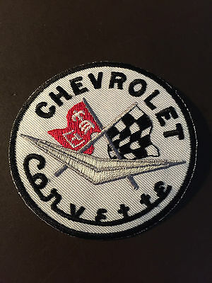 Chevrolet Corvette automotive patch - incredible graphics