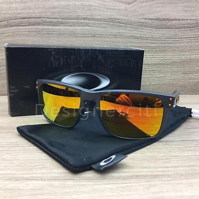 Oakley Holbrook Sunglasses Frames Dark Grey OO9102-74 Polarized Authentic 55mm
