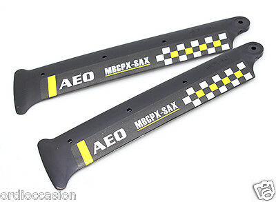 NEW AEO MBCPX-SAX 3D Main Blades with Winglet fo mCPX (2)