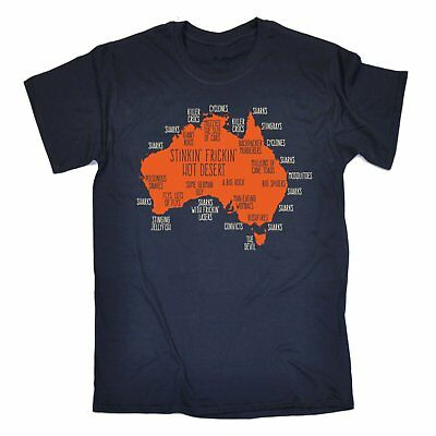 Australia Explained T-SHIRT Down Under Australian Aussie Ozzie Gift Birthday