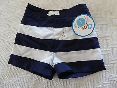 Circo UPF 50+ Board Shorts Swim Trunks Boys Infant Toddler Size Small 6mo NWT