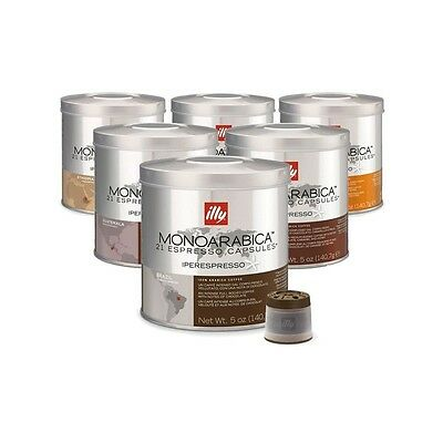 Pack Assortiment 126 Capsules café illy Iperespresso Monoarabica-Illy-3700850716