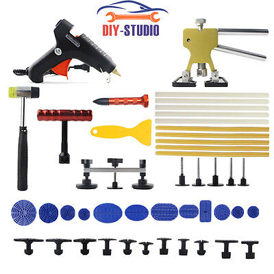 Paintless PDR Dent Lifter Repair Hail Hammer-Removal Tools Puller Car Damage Kit