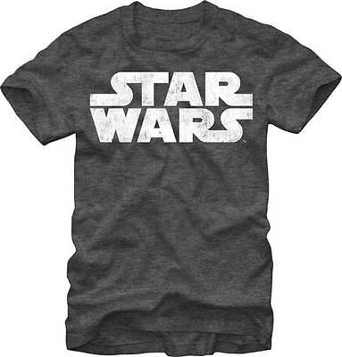 STAR WARS - Simplest Logo: Distressed T-shirt - NEW - XXLARGE ONLY