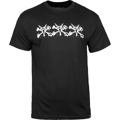 POWELL - Bones Tres Vatos Black T-shirt - NEW - SMALL ONLY