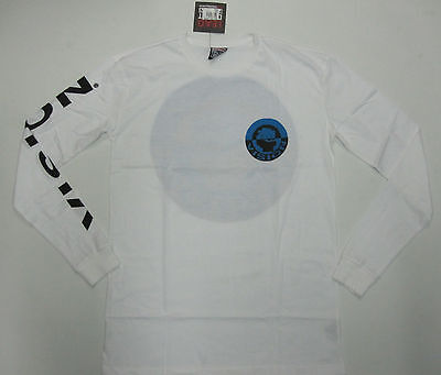 VISION STREET WEAR - Stay Strong Longsleeve T-shirt White - NEW - LARGE ONLY