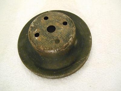 1969-72 BBC Chevy 396 402 427 454 1 Groove Water Pump Pulley 3995631 AO