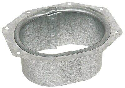 Galvanized C Wide Flange Outlet,No 29051-MW/NE/SE,  Amerimax Home Products, 3PK