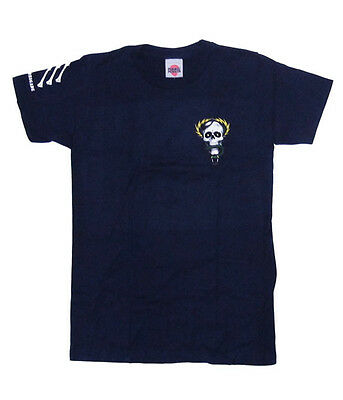 BONES BRIGADE - Mike McGill Navy (POWELL PERALTA) T-shirt - NEW - SMALL ONLY