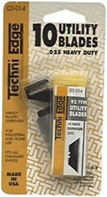 Utility Blade,Disp 10/Cd by IDL TECHNI EDGE MFG. CORP, 3PK