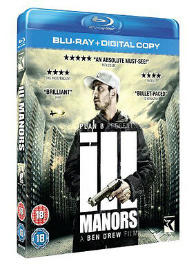 Ill Manors NEW Cult Blu-Ray Disc Ben Drew Riz Ahmed Ed Skrein Natalie Press