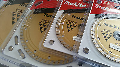 Diamond Blade For Concrete, Tile, Besser, Pavers And Marble Makita Long Life