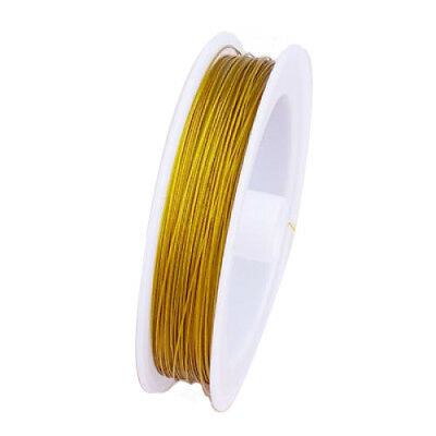 DIY Craft 90m A-GRADE TIGER TAIL BEADING WIRE THREADS 0.45mm