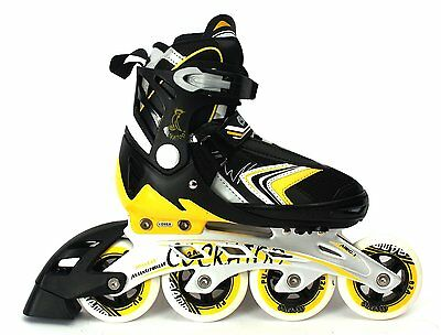 COCKATOO ABEC 7 INLINE ADJUSTABLE SKATES IS05 (90 mm Wheel)  + Free Shipping