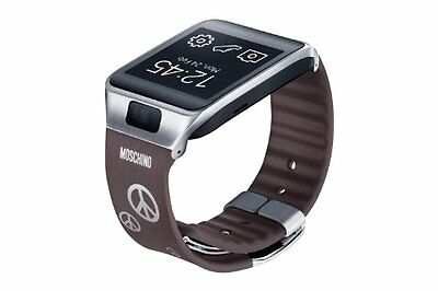 Samsung Standard Watch Strap for Galaxy Gear 2/Neo - Moschino Silver Peace