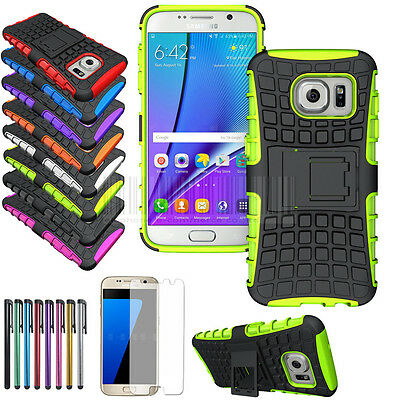 For Samsung Galaxy S7 Case Rugged Hard Hybrid Shockproof Stand Armor Cover