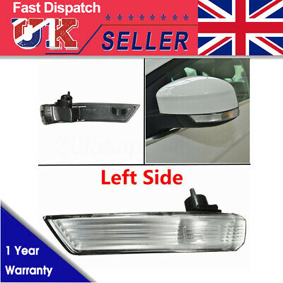 Ford Focus 2008-16 Wing Mirror Indicator Light Lens Clear UK Driver Right Side