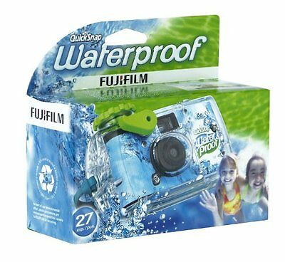 Fujifilm Quicksnap Marine 800 Analogue Single-Use Camera for 27 Pictures (Wate
