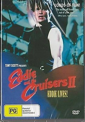 Eddie And The Cruisers 2 - Eddie Lives Pal All Region New Sealed Compatible Dvd