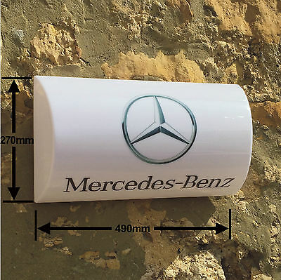 Mercedes benz pvc banner garage workshop car sign for Mercedes benz sign in