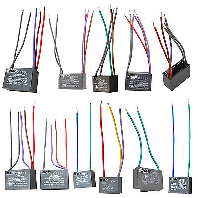 CBB61 250VAC Replacement Capacitors for Harbor Breeze Ceiling Fan, (32 Models)