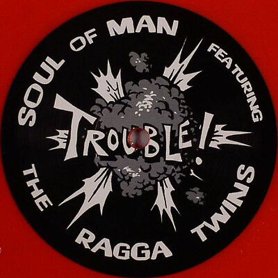 Soul Of Man Ft. Ragga Twins / Trouble  Flr080 Ltd. Red