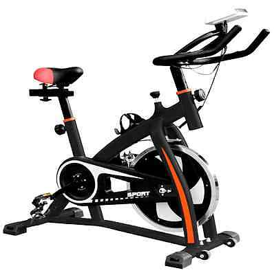 Top Quality Heavy Duty  Exercise Bike Home Fitness Gym Led Monitor 18Kg Flywheel