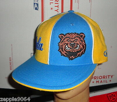 06331715b1a1f3 MEN S NCAA UCLA Bruins Headmaster Campus Wear Sewn Wool Hat Fitted 7 ...