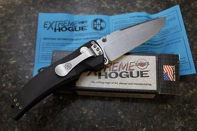 "NEW Hogue 34350 EX-03 Extreme Series 4"" Drop Point Knife Polymer Frame"