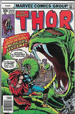The Mighty Thor #273 (Vg/fn) Bronze Age Marvel