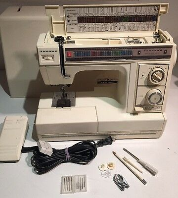 Janome SX-2122 Computer Equipped 22 Stitch Heavy Duty Free Arm Sewing Machine
