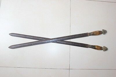 Rare Antique Chinese Double Swords