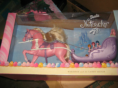 Barbie in the Nutcracker Marzipan and the Candy Sleigh NIB