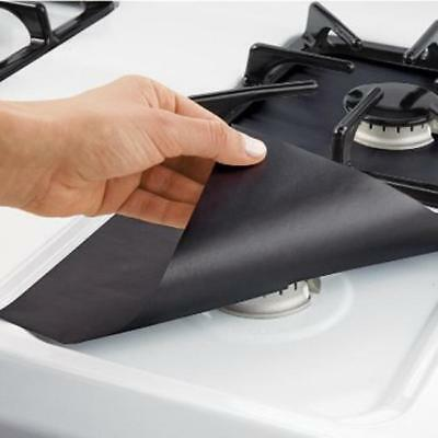 Easy Clean Cooks Gas Rang Hob Liner Stove Top Protectors Tool Kitchen Decor - SS
