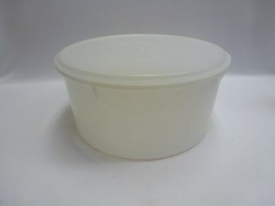 Vintage Tupperware Sheer Large Canister with Lid 256-1