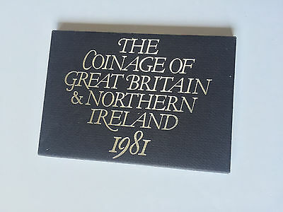 The Coinage of Great Britain & Northern Ireland 1981 - Free Postage