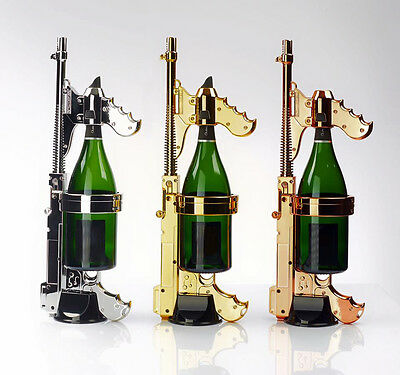 GOLD Champagne GUN! First in the USA!