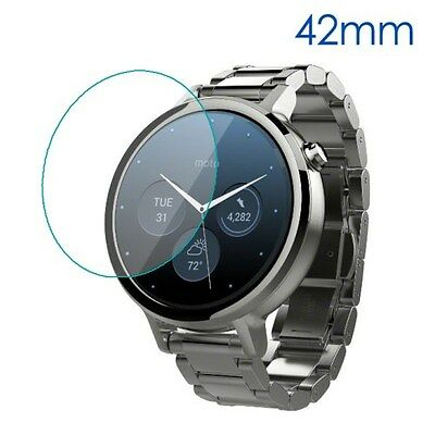 Tempered Glass Screen Protector for Motorola Moto 360 42mm (2nd gen)
