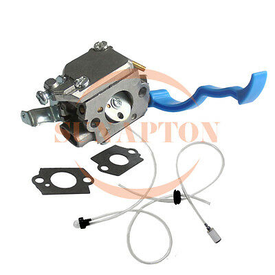 Carburetor & Fuel line kit For HUSQVARNA 125B 125BVX 125BX Rep Zama C1Q-W37 Carb
