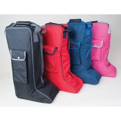 Rhinegold Long Riding Boot Carry Storage Travel Bag All Colours Available