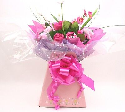 Baby Girl Clothing Bouquet Gift Set Pink Next Day Dispatch