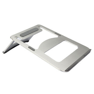 Aluminium Laptops Notebook Cooling Stand Holder Desk for Apple-Macbook Pro NEW